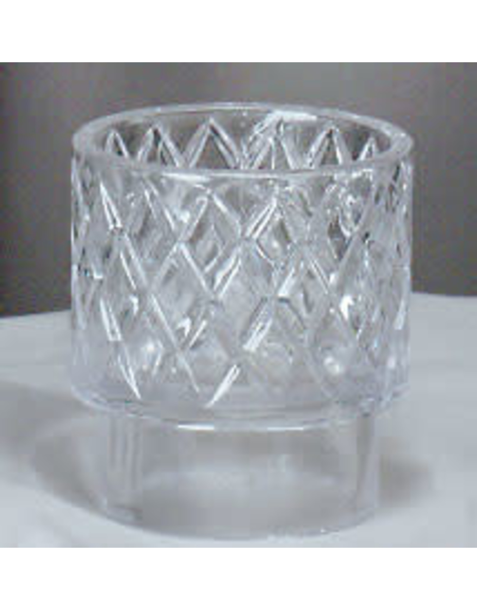 "Crystal Flame Guard for 2-5/8"" Oil Candle Shell"