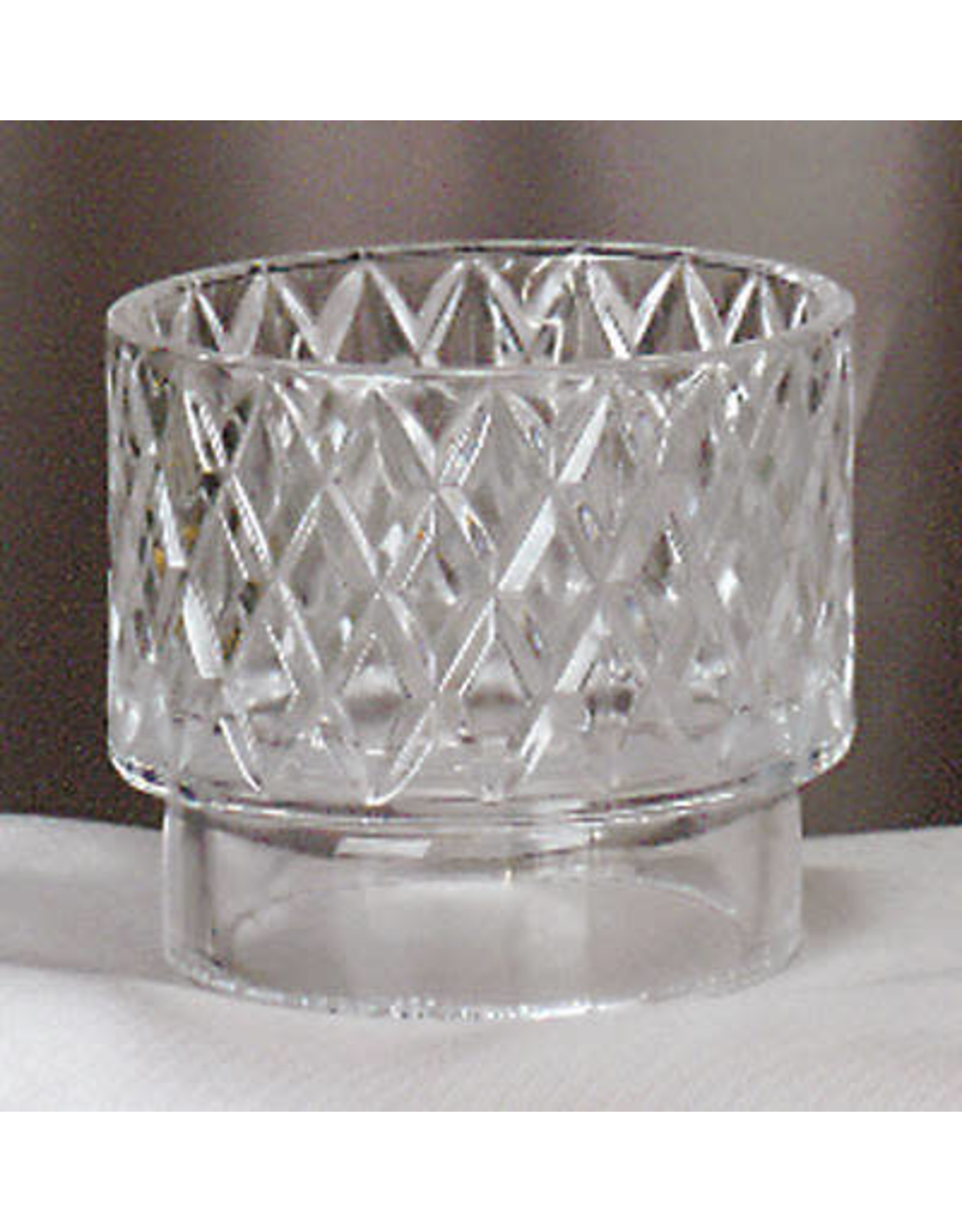 "Crystal Flame Guard for 3-1/4"" Oil Candle Shell"