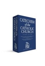 Catechism of the Catholic Church (Blue Paperback)