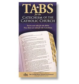Tabs for the Catechism of the Catholic Church