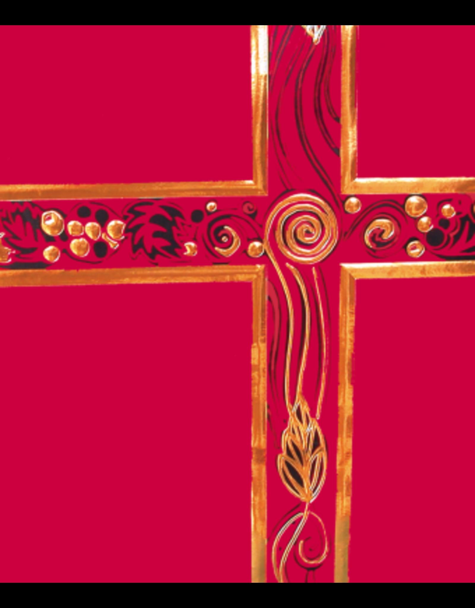 Ceremonial Binder - Red & Gold