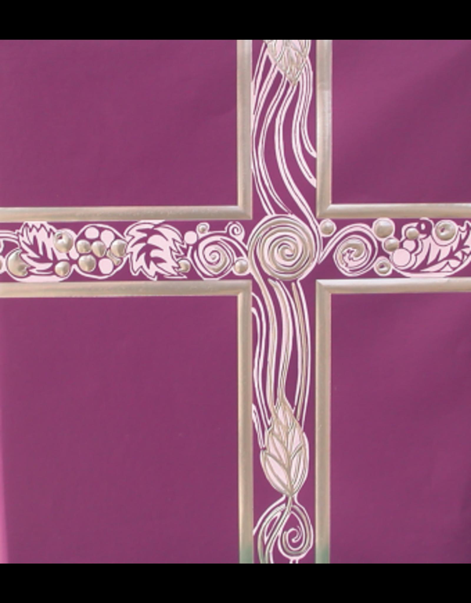 Ceremonial Binder - Purple (Lavender) & Silver