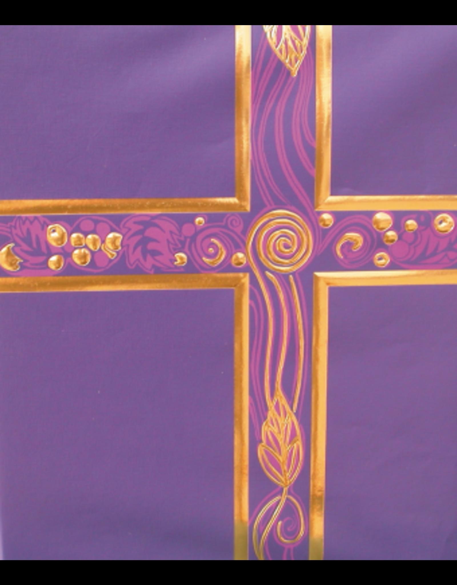 Ceremonial Binder - Royal Purple (Violet) & Gold