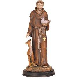 "St. Francis Statue (12"")"