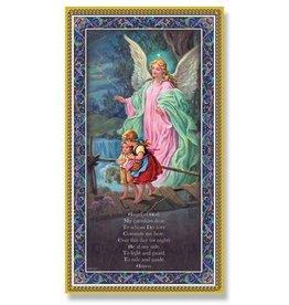 Plaque Guardian Angel 5x9 w/Prayer