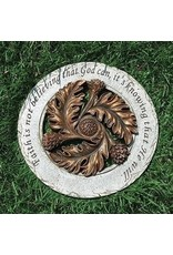 Bronze Garden Stone Faith is Believing...
