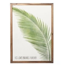 Picture - Palm - His Love Endures Forever