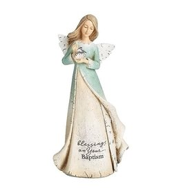 "Baptism Angel Statue 7"""