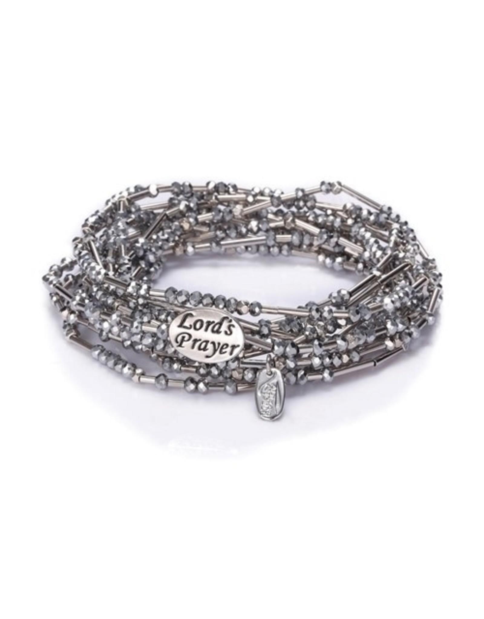 Lord's Prayer Morse Code Bracelet