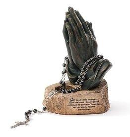 Praying Hands Rosary Holder