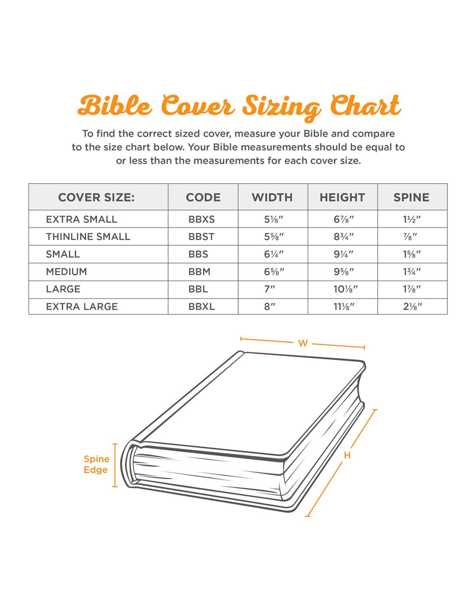 "Bible Cover Medium ""Forro símil cuero Fe"""