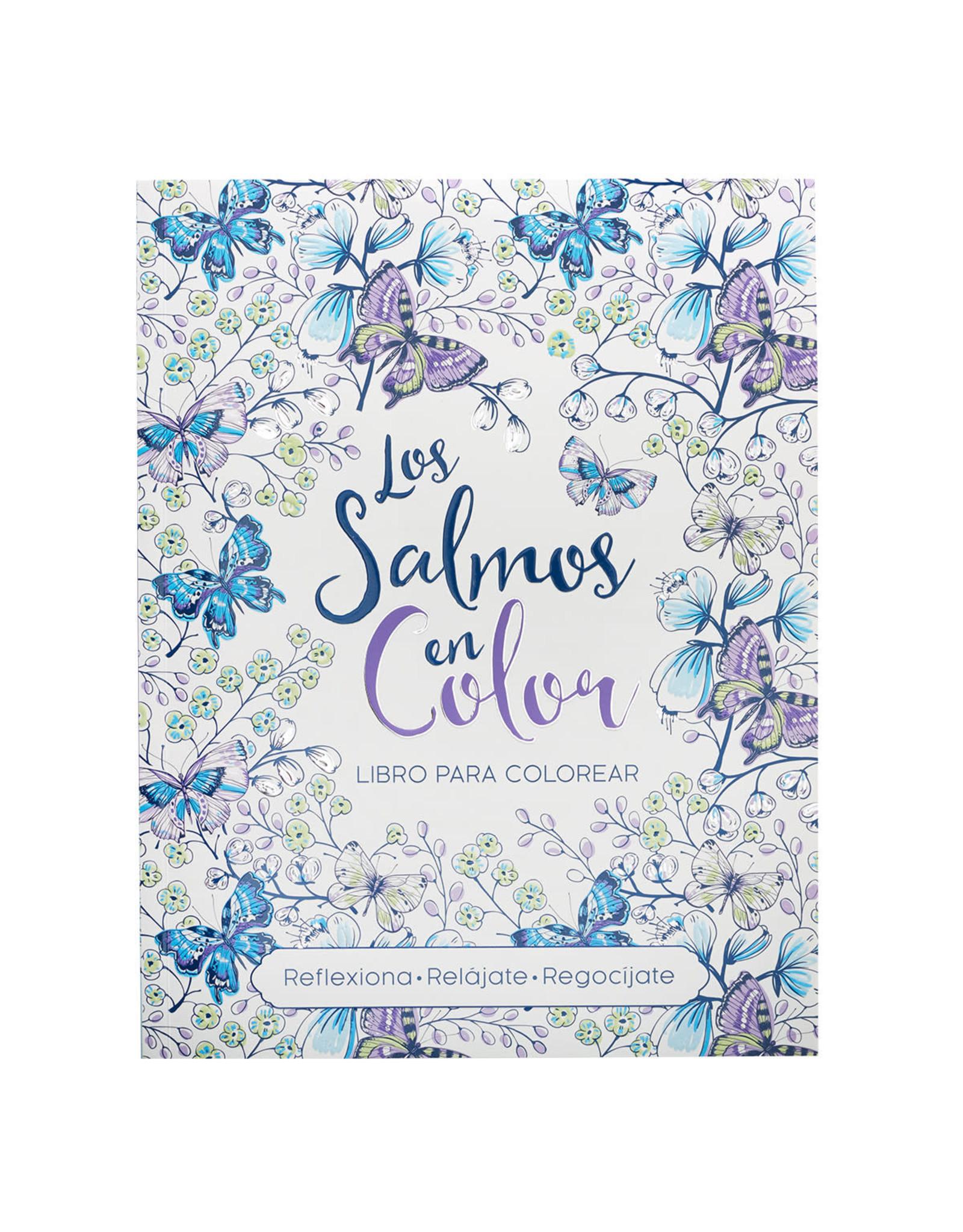 """Libro para Colorear """"Los Salmos en Color"""""""