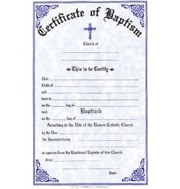 Baptism Certificates (Pad of 50)