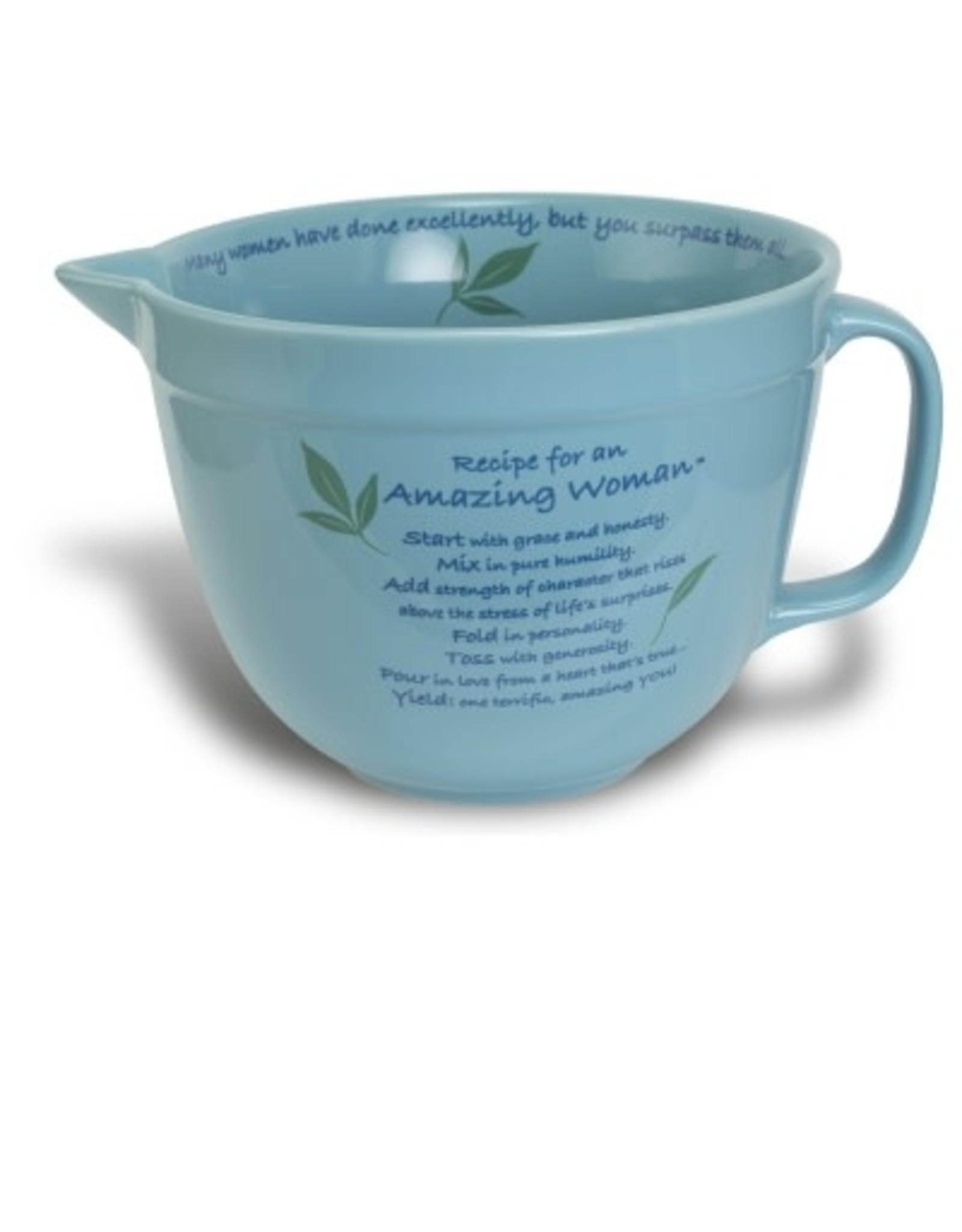 Mixing Bowl - Amazing Woman (Blue)