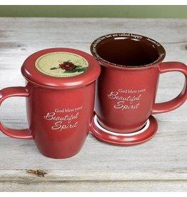 Mug with Coaster - Beautiful Spirit