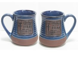 Mug - I Can Do All Things Pottery