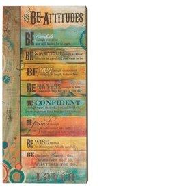 Teen Be-Attitudes Plaque