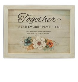 Plaque - Together 16x12