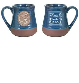 Mug - Land of the Free Thanks to the Brave