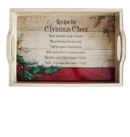 Tray - Christmas Cheer 18x12