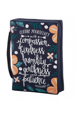 """Bible Cover Large """"Clothe Yourselves with Compassion"""""""