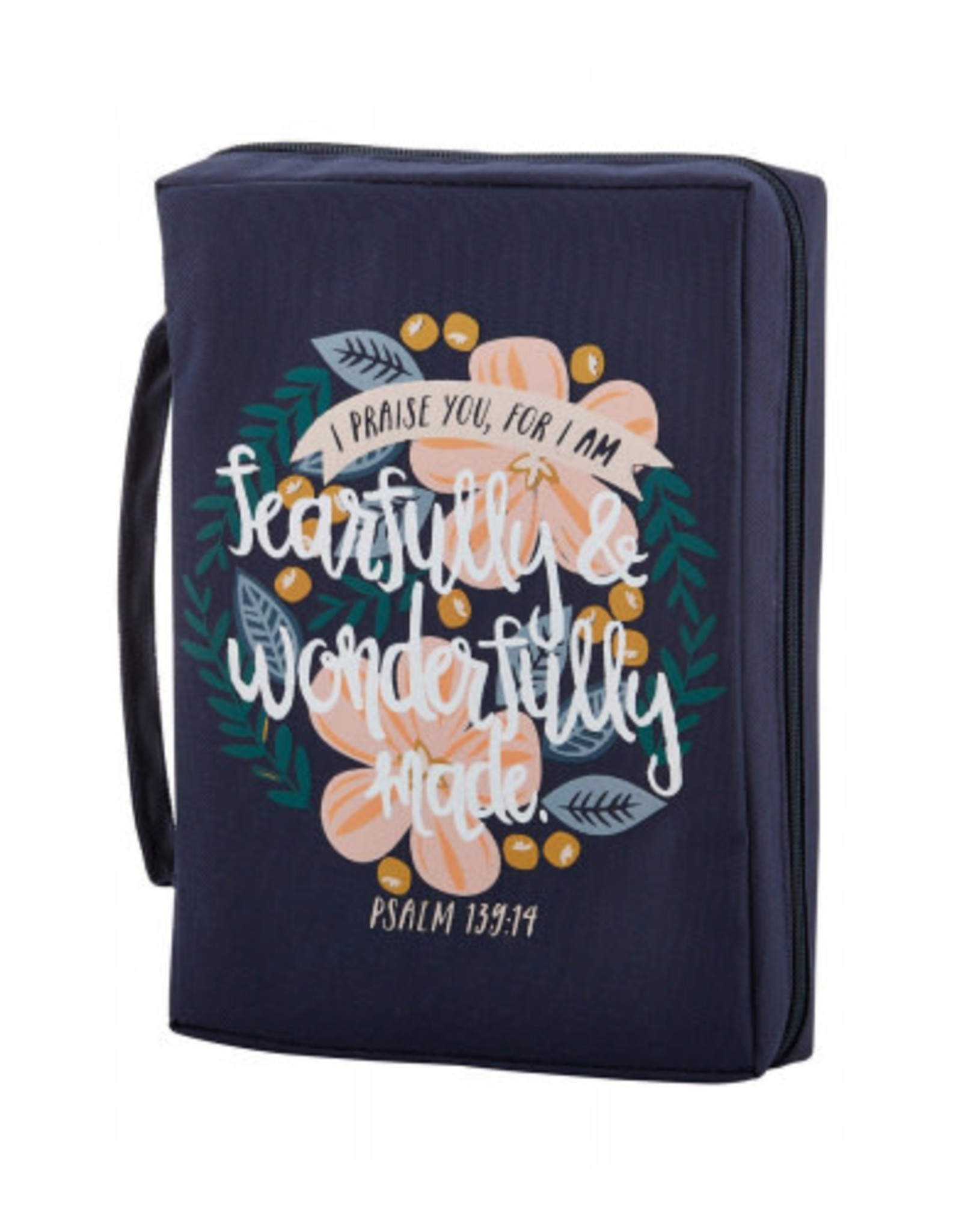 """Bible Cover Large """"Fearfully & Wonderfully Made"""""""
