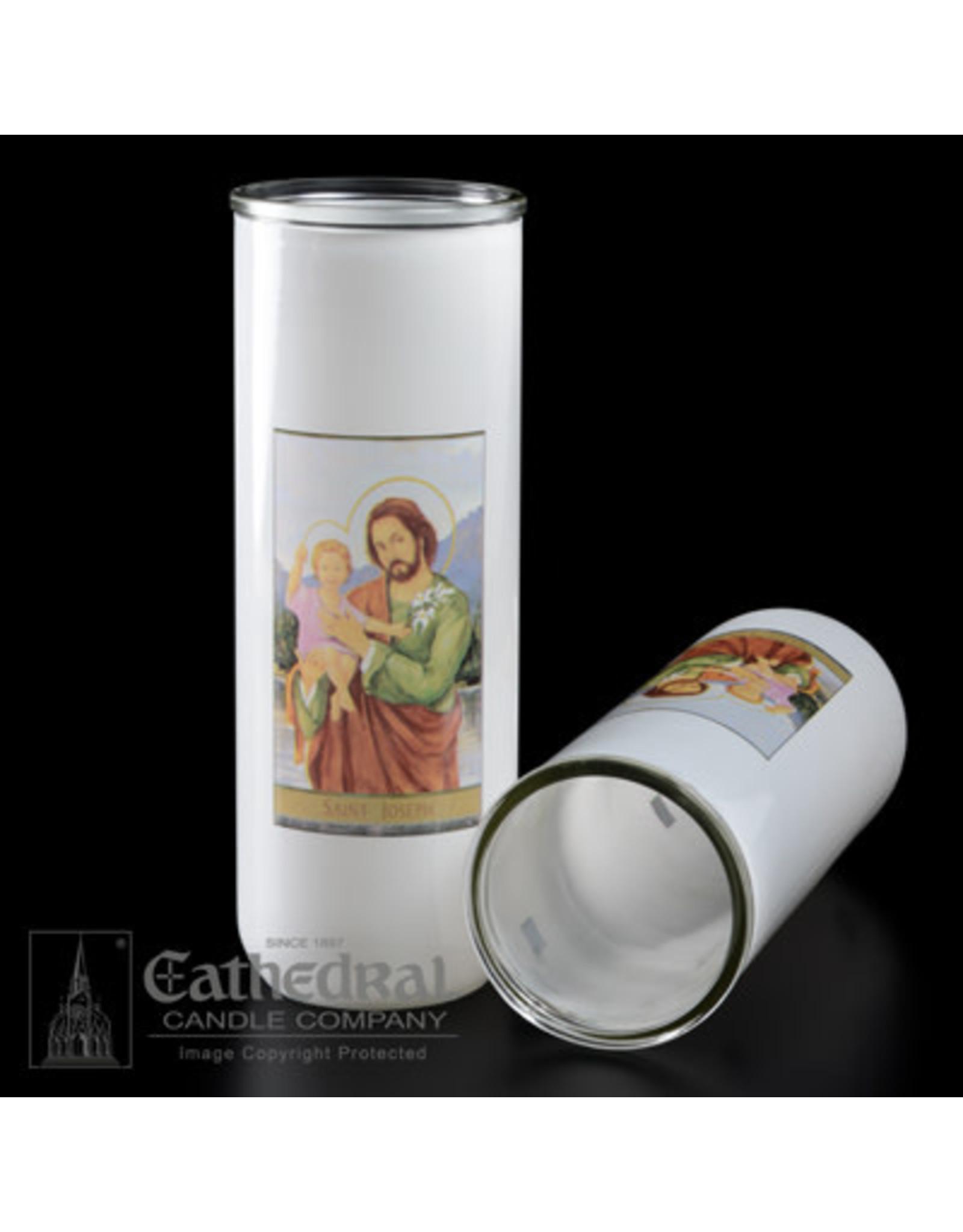 5, 6, 7-Day Glass Globe - St. Joseph