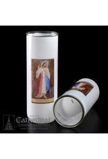 5, 6, 7-Day Glass Globe - Divine Mercy