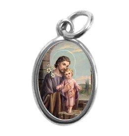 Medal St. Joseph Cromo
