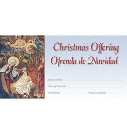 Offering Envelopes-Christmas-Bilingual (100)
