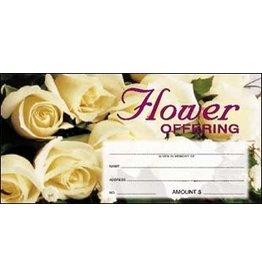 Offering Envelopes-Flower (100)