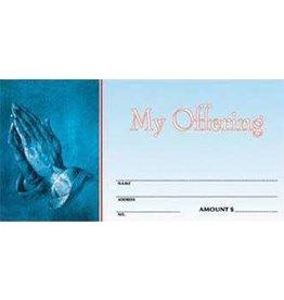 Offering Envelopes-General-Praying Hands (100)