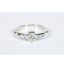Rosary Ring Sterling Silver Size