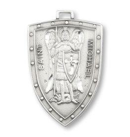 Pendant - St Michael, Badge (Pewter)