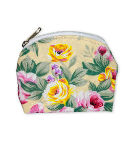 Floral Brocade Rosary Pouch