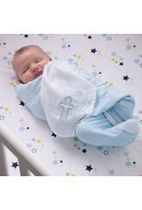 Blue Receiving Blanket