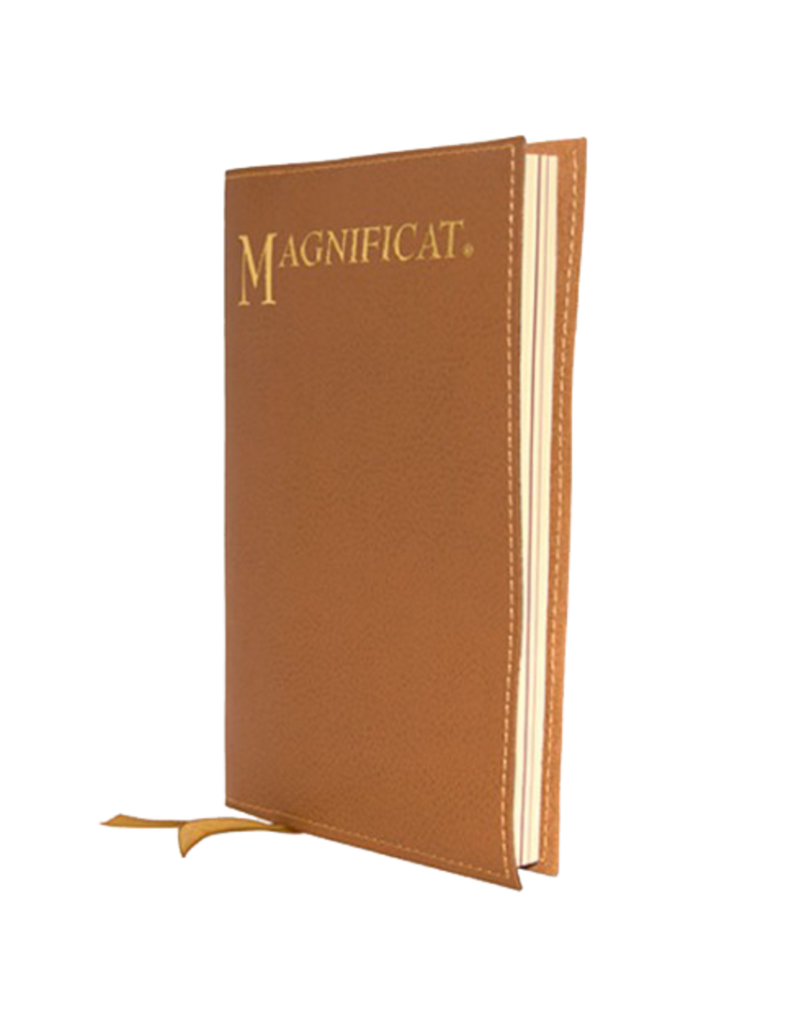 Tan Leatherette Cover for Magnificat CAN'T GET
