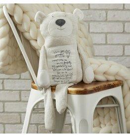 Gray Plush Bear (Poetic Threads)