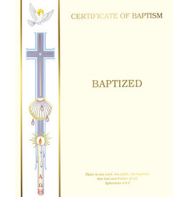 Certificate Baptism Create-Your-Own (50)