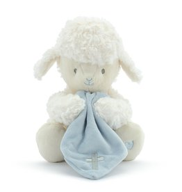 """Jesus Loves Me"" Singing Lamb (Blue)"