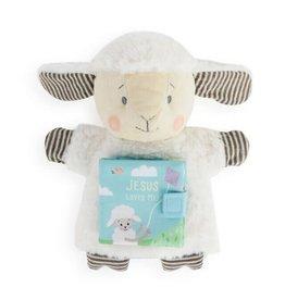 Jesus Loves Me Lamb Puppet Book