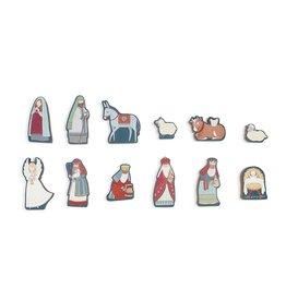 Children's Countdown Nativity Set
