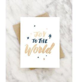 """Joy to the World"" Christmas Greeting Card"