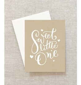 Sweet Little One (Baby/Baptism) Greeting Card