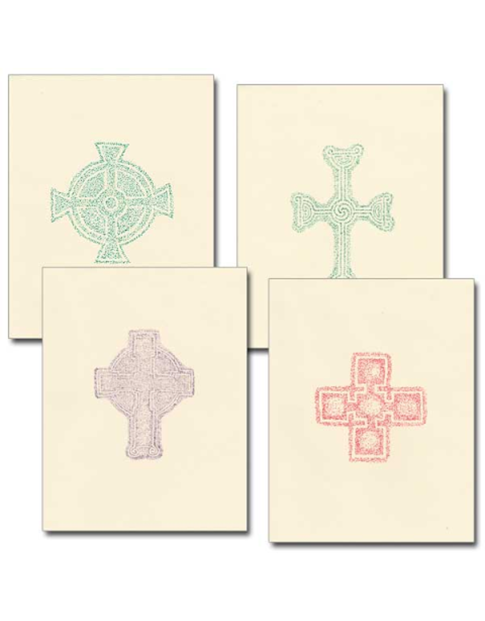 Boxed Cards - Assorted Celtic Cross (12)