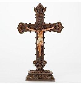 """Standing Crucifix 14.5"""""""