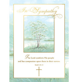 Boxed Cards - Sympathy Isaiah 49:13 (25)