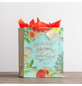 Large Giftbag - Birthday Blessings