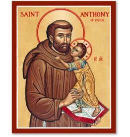 "Icon St. Anthony of Padua 38""x48"""