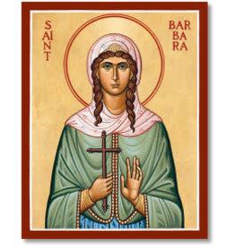 "Icon St. Barbara 38""x48"""